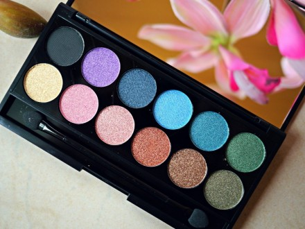 Палетка теней Sleek MakeUp Eyeshadow Palette I-Divine (12 тонов) Original: фото