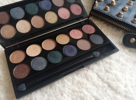 Палетка теней Sleek MakeUp Eyeshadow Palette I-Divine (12 тонов) Storm: фото