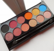 Палетка теней Sleek MakeUp Eyeshadow Palette I-Divine (12 тонов) Sunset