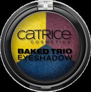 Тени для век трио Baked Trio Eyeshadow C01: фото