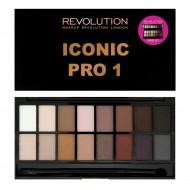 Палетка теней MakeUp Revolution Iconic Pro 1: фото