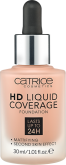 Тональная основа CATRICE HD Liquid Coverage Foundation 040 Warm Beige