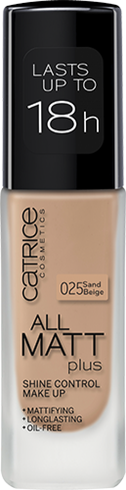 Основа тональная CATRICE All Matt Plus Shine Control Make Up 025 Sand Beige
