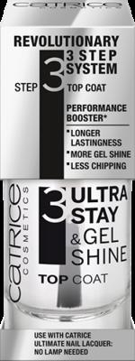 Верхнее покрытие для ногтей CATRICE Ultra Stay & Gel Shine Top Coat: фото