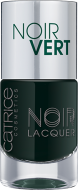 Лак для ногтей CATRICE Noir Noir Lacquers 06 Noir Vert оливково-черный: фото