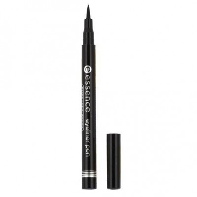 Подводка для глаз ESSENCE Eye Liner Pen Black черная 010 Catrice