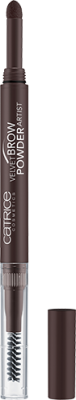 Тени-карандаш для бровей CATRICE Velvet Brow Powder Artist 030 Dark Brow(n) Is The New Black темно-коричневый: фото