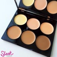 Палетка кремовых корректоров для контурирования лица Sleek MakeUp CREAM CONTOUR KIT 096 Medium: фото