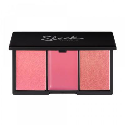 Румяна в палетке Sleek MakeUp BLUSH BY 3 Pink Lemonade
