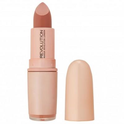 Помада для губ MakeUp Revolution Iconic Matte Nude Revolution Lipstick Inspiration, бежевый NEW