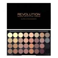 Палетка теней MakeUp Revolution 32 EYESHADOW PALETTE Flawless Matte: фото