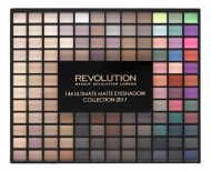 Палетка теней MakeUp Revolution 144 Ultimate Matte Eyeshadow Collection: фото