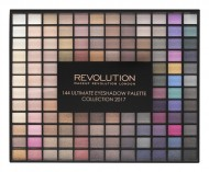 Палетка теней MakeUp Revolution 144 Ultimate Eyeshadow Collection 2017: фото