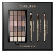 Набор для макияжа MakeUp Revolution HD Pro Eyes & Brows: фото