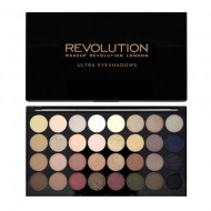 Палетка теней MakeUp Revolution 32 EYESHADOW PALETTE Flawless: фото