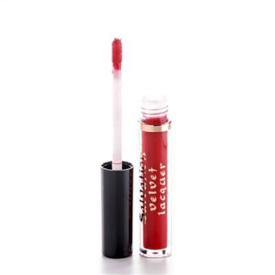 Жидкая помада MakeUp Revolution SALVATION VELVET LIP LACQUER Keep trying for you, красный: фото