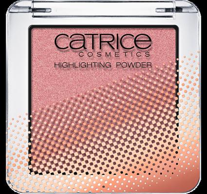 Хайлайтер компактный CATRICE Prêt-à-Lumière Highlighting Powder PRISMATIC PINK C03: фото