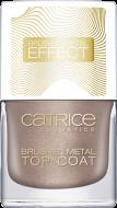 Верхнее покрытие для ногтей CATRICE Pulse Of Purism Brushed Metal Top Coat C01: фото