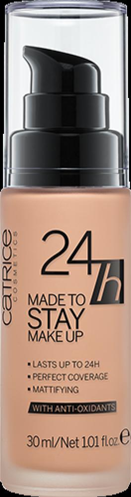 Тональная основа CATRICE 24h Made To Stay Make Up 025 Warm Beige темно-бежевый