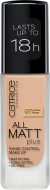 Основа тональная CATRICE All Matt Plus Shine Control Make Up 027 Amber Beige ванильный