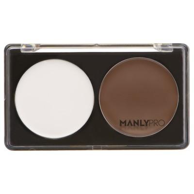 Палитра кремовых корректоров для моделирования лица 2 оттенка Manly Pro П45: фото