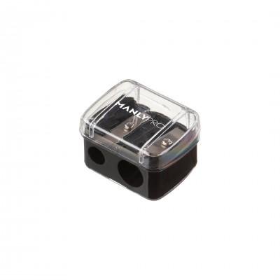 Точилка для косметических карандашей с резервуаром Manly Pro (два режима заточки) ТЧ02: фото