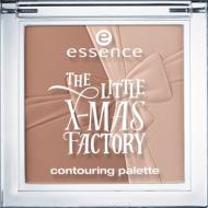 Средство для контурирвания: бронзер и хайлайтер The little x-mas factory Еssence 01 elf yourself!: фото