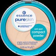 Компактная пудра для проблемной кожи Pure skin b-to-b anti-spot 01 beige: фото