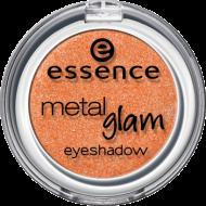 Тени Metal glam eyeshadow Еssence 06 miss tangerine: фото