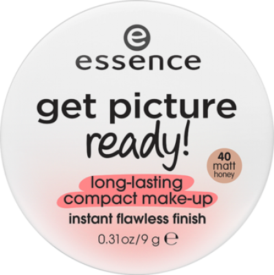 Компактная тональная основа Get Picture Ready! Essence 40 matt honey: фото