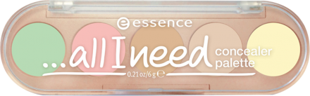Консилер 5 в 1 ...all i need concealer palette Еssence 10 cover it all: фото