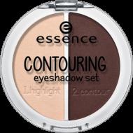 Тени для век Contouring Eyeshadow Set 2 in 1 Essence 04 coffee 'n' cream: фото