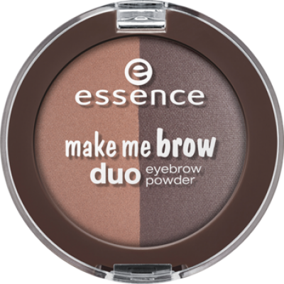 Тени для бровей Make Me Brow Duo Eyebrow Powder Essence 02 mix it brunette!: фото