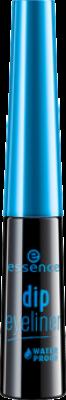 Подводка для глаз Dip eyeliner waterproof Essence black: фото