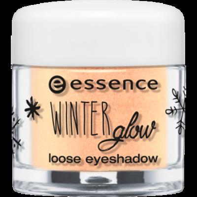 Рассыпчатые тени для век Winter glow Essence 03 gleaming in the winter sun: фото