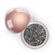 "Сияющий блеск для век ""Глиттер"" Crystalized Glitter LASplash Thistle"