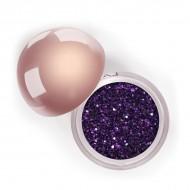 "Сияющий блеск для век ""Глиттер"" Crystalized Glitter LASplash Purple Rain"