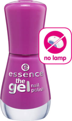 Лак для ногтей The gel Essence 95 vibrant purple