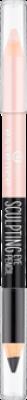 Двусторонний скульптурирующий карандаш для глаз Sculpting Eye Pencil Essence 01 black to white: фото