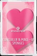 Спонж для консилера и тональной основы Concealer & make-up sponges Essence: фото
