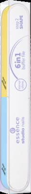 Профессиональная пилочка для ногтей Profi file 6 in 1 Essence: фото