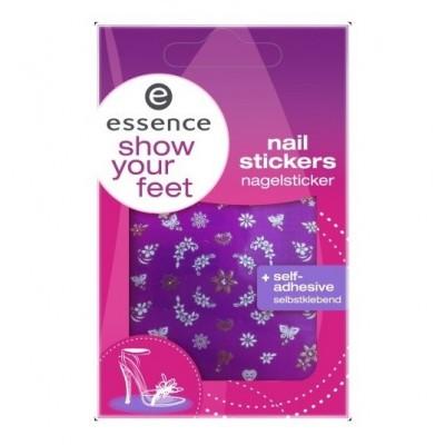 Наклейки для ногтей Show your feet Essence: фото