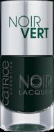 Лак для ногтей Noir Noir Lacquers Catrice 06 Noir Vert оливково-черный: фото