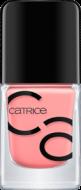 Лак для ногтей ICONails Gel Lacquer Catrice 08 Catch of the day светло-коралловый: фото
