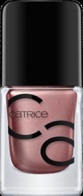 Лак для ногтей ICONails Gel Lacquer Catrice 11 Go for gold! розовое золото: фото
