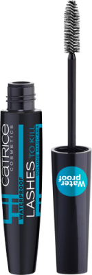 Тушь для ресниц Lashes To Kill Waterproof Volume Mascara Catrice: фото
