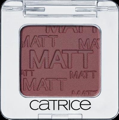 Одинарные тени для век Absolute Eye Colour Catrice 990 Don't Cry For Me Aubergina коричневый матовый: фото