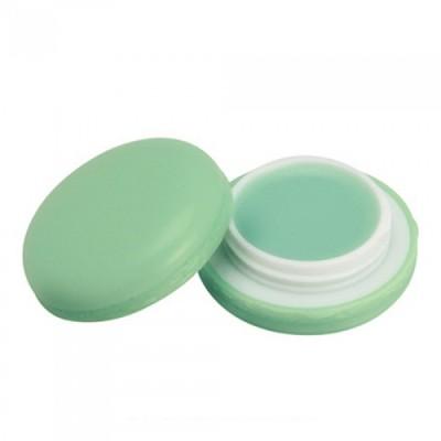 "Бальзам для губ ""Макарун"" It`s Skin Macaron Lip Balm Holika Holika, тон 02, зеленое яблоко It'S SKIN"
