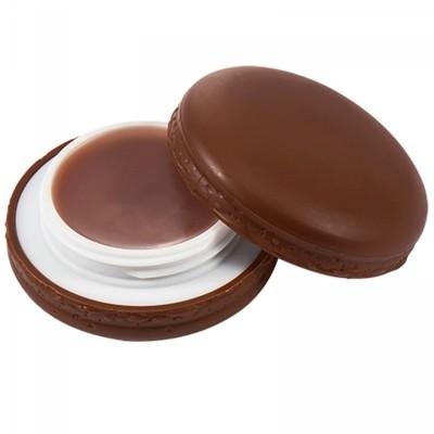 "Бальзам для губ ""Макарун"" It`s Skin Macaron Lip Balm Holika Holika, тон 05, шоколад It'S SKIN"