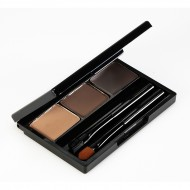 Палетка теней для бровей Holika Holika Wonder Drawing Eyebrow Kit тон 02, светло-коричневый: фото
